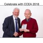 Mr Trevor Carson (CCEA Chairman) with David